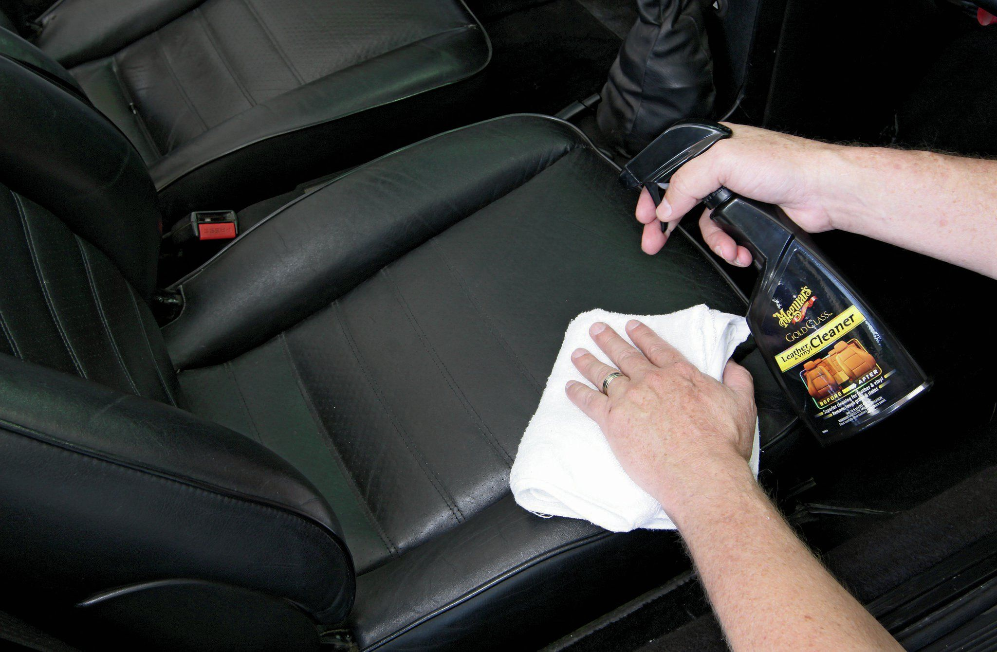 Leather Interior Cleaning